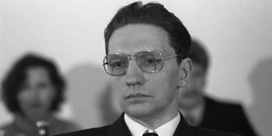 03.02.1983 Friedenskongreß der CDU im Konrad-Adenauer-Haus, Bonn.